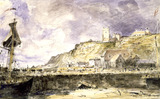 Folkestone Harbour, by John Constable
