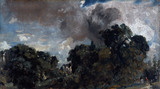 On The Edge of a Wood, by John Constable