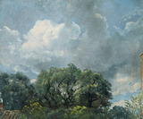 Study of Sky and Trees, by John Constable