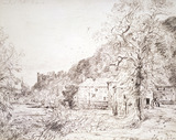 Arundel Mill and Castle, by John Constable
