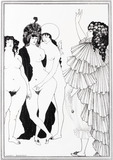 Lysistrata Haranguing the Athenian Women, by Aubrey Beardsley