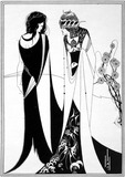 John and Salomé, by Aubrey Beardsley