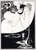 The Climax, by Aubrey Beardsley