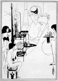 The Toilet of Salomé, by Aubrey Beardsley