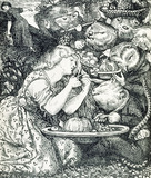 Frontispiece to Goblin Market and other poems, by Dante Gabriel Rossetti