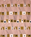 Rig, furnishing fabric, by Lucienne Day