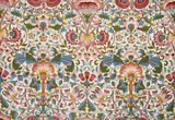 Lodden furnishing fabric, by William Morris