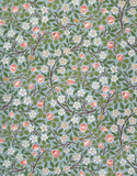 Clover wallpaper, by William Morris