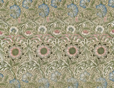 Corncockle furnishing fabric, by William Morris