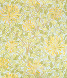 Honeysuckle wallpaper, by William Morris