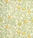 Tom Tit wallpaper, by William Morris