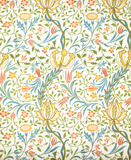Flora wallpaper, by William Morris