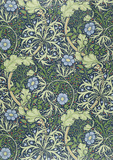 Seaweed wallpaper, by William Morris