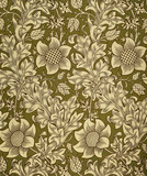 Fritillary wallpaper, by William Morris