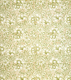 Carnation wallpaper, by William Morris