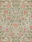 Rose furnishing fabric, by William Morris