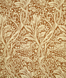 Arcadia wallpaper, by William Morris