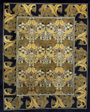 Carpet furnishing fabric, by C.F.A.Voysey