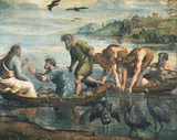 The Miraculous Draught of Fishes, by Raphael