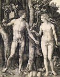 Adam and Eve, by Albrecht Durer