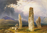 Circle of Stones, near Tormore, Isle of Arran, by William Andrew Nesfield