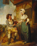 At the Inn Door, by Henry Singleton