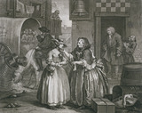 A Harlot's Progress, by William Hogarth