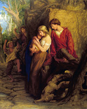 First Love, by William Mulready