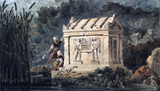 A tomb in Lucia, by John Peter Gandy