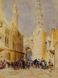 Bab Zuwiek, by William Henry Bartlett