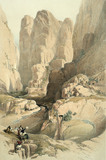 Entrance Into Petra, by Charles Hamilton Smith