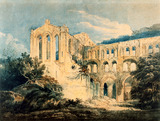 Rievaulx Abbey, by Thomas Girtin