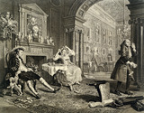 Marriage a la Mode, Plate II, by William Hogarth