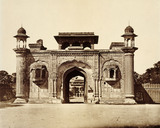 Ram Bagh Gateway, photo Felice Beato