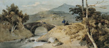 Chinese Landscape with Bridge, by George Chinnery