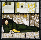 Chaucer Asleep, by Sir Edward Burne-Jones