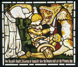The Legend of St George, by Dante Gabriel Rossetti