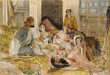 The Hhareem, Cairo, by John Frederick Lewis