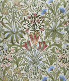 Woodland Weeds wallpaper, by William Morris