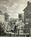 Evening, by William Hogarth