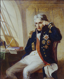Vice Admiral Lord Nelson, by Charles Lucy