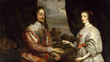 King Charles I and Queen Henrietta Maria, by Gonzales Coques