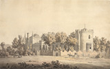 Strawberry Hill, Twickenham,  by William Marlow