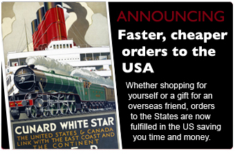 announcing faster, cheaper orders to the USA