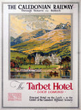 'The Tarbet Hotel, Loch Lomond', Caledonian Railway poster, 1920.