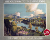 'The Gateway to the Highlands', LMS poster, 1923-1947.