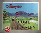 'Come by the Caley', CR poster, 1915.