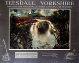 'Teesdale', NER poster, 1910.