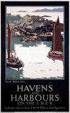 'Havens and Harbours on the LNER', railway poster, 1923-1947.