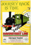 Journey Back in Time - Visit the Havenstreet Line', poster, 1990.